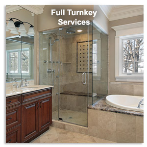 Full Turnkey Kitchen and Bath Remodeling Services