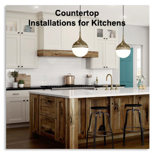 Countertop Installations for Kitchen, Luxury Counter Tops