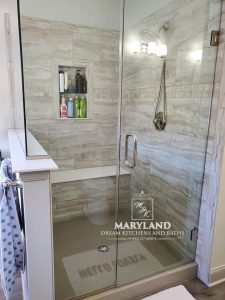 Bel Air Bathroom Remodeling Contractor new tile shower stall