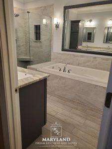 Luxury Bathroom Remodeling Project - Luxury Tub