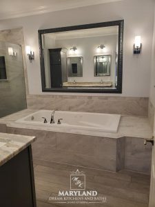 Luxury Bathroom Remodeling Project - Maryland Dream Kitchens and Baths