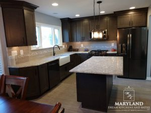 Kitchen Renovation Project Aberdeen MD Harford County Luxury Kitchen